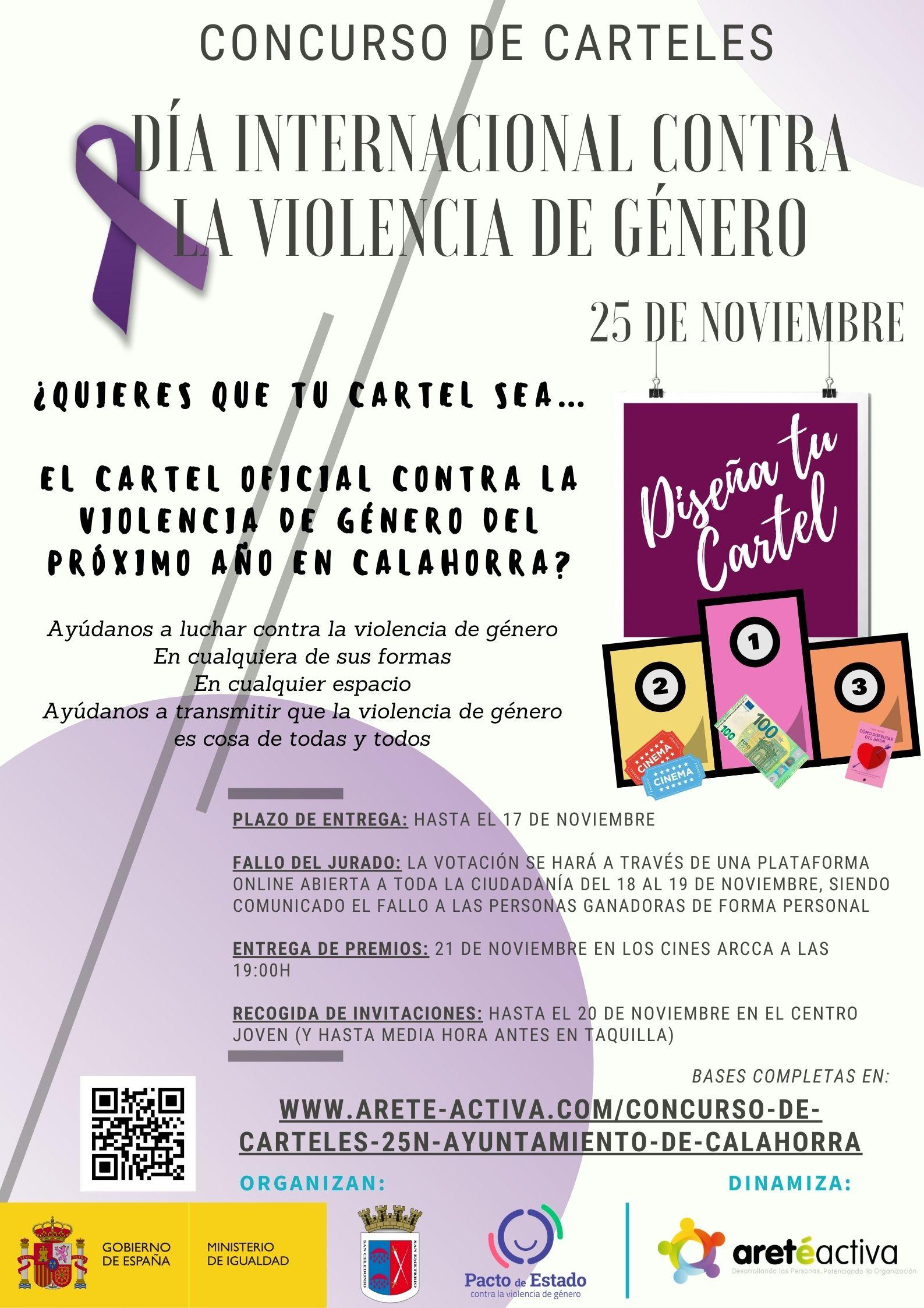 Concurso Carteles 25N - Ayto. de Calahorra