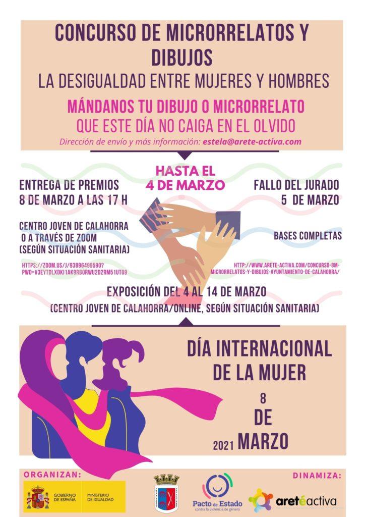 Concurso Carteles 8M - Ayto. de Calahorra